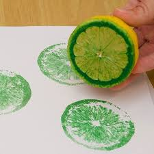 fruit printing
